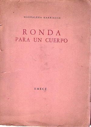RONDA PARA UN CUERPO. (Dibujos coloreados de Ernesto Caldentey) [Firmado / Signed]: Harriague,...