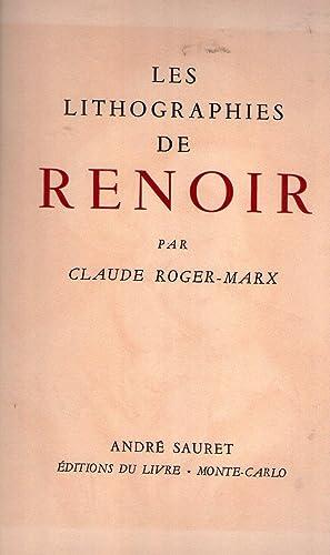 LES LITHOGRAPHIES DE RENOIR: Roger Marx, Claude