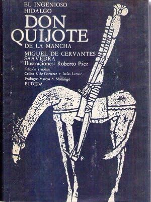 EL INGENIOSO HIDALGO DON QUIJOTE DE LA MANCHA. (2 tomos). Ilustraciones Roberto Páez. Edici&...