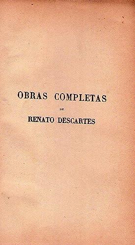 OBRAS COMPLETAS. Versión castellana de Manuel Machado: Descartes, Renato