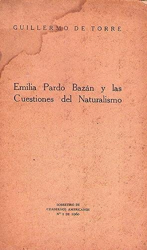 EMILIA PARDO BAZAN Y LAS CUESTIONES DEL NATURALISMO: Torre, Guillermo de
