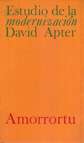 ESTUDIO DE LA MODERNIZACION: Apter, David