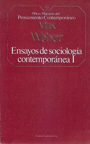 ENSAYOS DE SOCIOLOGIA CONTEMPORANEA (2 tomos): Weber, Max
