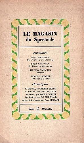 LE MAGASIN DU SPETACLE - No. 2, juin 1946: Haedens, Kleber (Directeur)