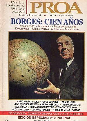 PROA - No. 42, julio - agosto 1999 - Borges 100 años (Edición especial homenaje a ...