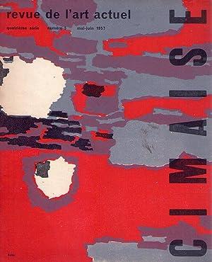 CIMAISE - No. 5, quatrième série, Mai Juin 1957: Arnaud, Jean Robert (Directeur)