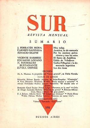 SUR - No. 198, abril de 1951: Ocampo, Victoria (Directora)