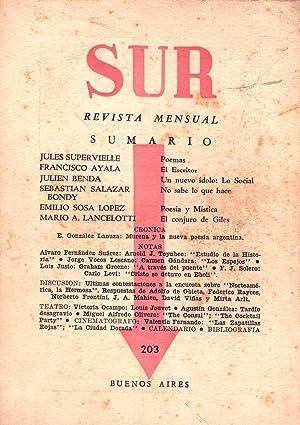 SUR - No. 203, septiembre de 1951: Ocampo, Victoria (Directora)