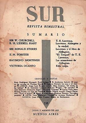 SUR - No. 235, julio agosto de 1955: Ocampo, Victoria (Directora)