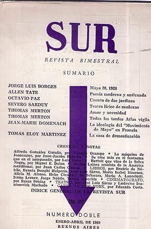 SUR - Nos. 316 y 317, enero abril de 1969: Ocampo, Victoria (Directora)