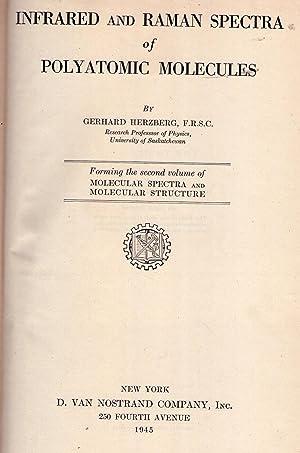 MOLECULAR SPECTRA AND MOLECULAR STRUCTURE. Volume II: Herzberg, Gerhard