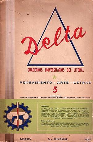 DELTA - No. 5 - Tercer trimestre de 1945: Manus, Alberto (Director)