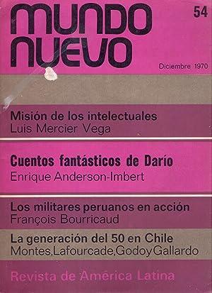 MUNDO NUEVO - No. 54, diciembre de 1970