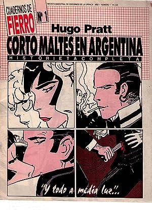 CUADERNOS DE FIERRO - No. 1 - Año I, febrero 1987. (Corto maltés en Argentina por ...