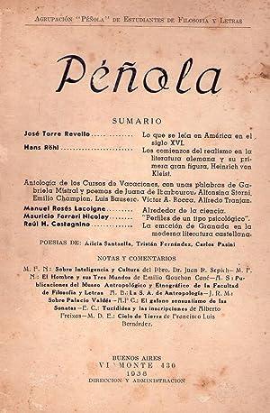 PEÑOLA - No. 2 - Año I, junio de 1983. Redactores: J. E. Sabor, Daniel J. Devoto, ...