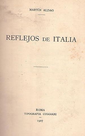REFLEJOS DE ITALIA: Aldao, Martin