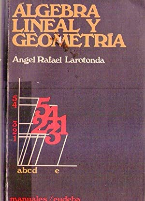 ALGEBRA LINEAL Y GEOMETRIA: Larrotonda, Angel Rafael