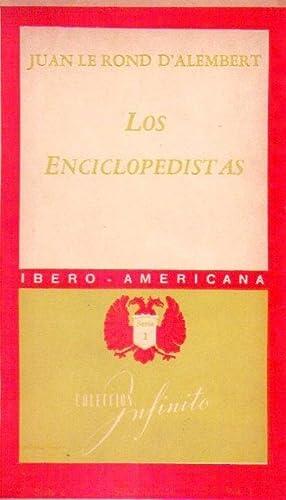 LOS ENCICLOPEDISTAS. Las ideas esenciales de Buffon, Helvetius, Condillac, D'Alembert, ...