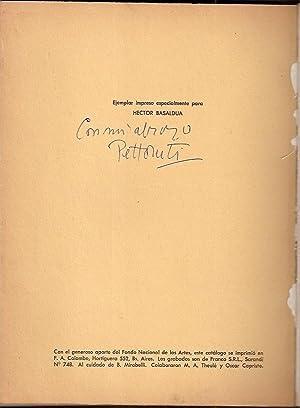 PETTORUTI. Homenaje Nacional a 50 años de: Pettoruti, Emilio)