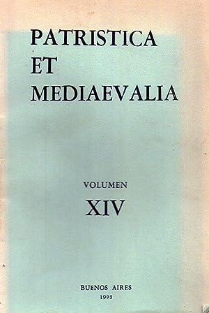 PATRISTICA ET MEDIAEVALIA. Volumen XIV. (Vol. 14): Bertelloni, Carlos Francisco (Director)