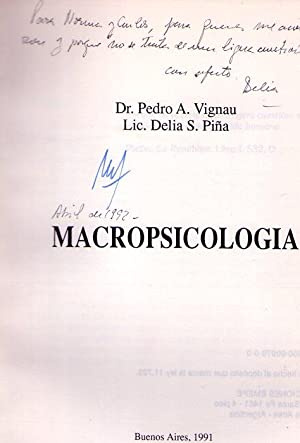 MACROPSICOLOGIA [Firmado / Signed]