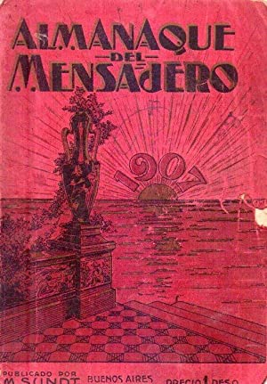ALMANAQUE DEL MENSAJERO 1907