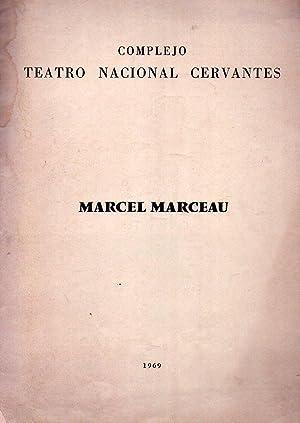 MARCEL MARCEAU CON PIERRE VERRY. Saison Théâtrale Française en Amérique ...