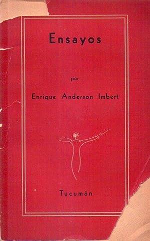 ENSAYOS [Firmado / Signed]: Anderson Imbert, Enrique
