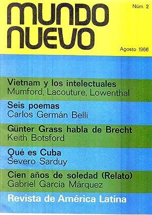 MUNDO NUEVO - No. 2 - Agosto 1966 (Cien años de soledad, relato, por Gabriel García M...
