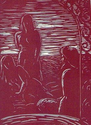 EL JARDIN DE LAS CARICIAS. Tradujo del árabe Franz Toussaint. Versión castellana de ...
