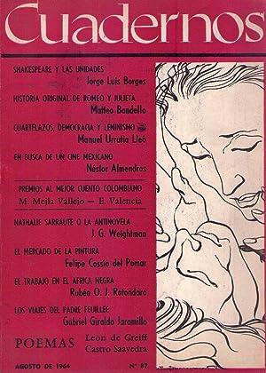 CUADERNOS - No. 87 - Agosto de 1964: Arciniegas, German (Director)