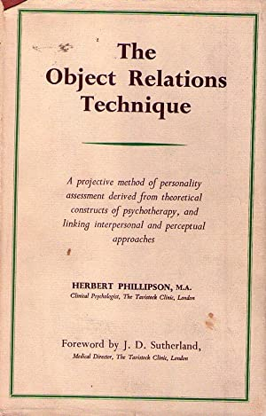 THE OBJECT RELATIONS TECHNIQUE: Phillipson, Herbert