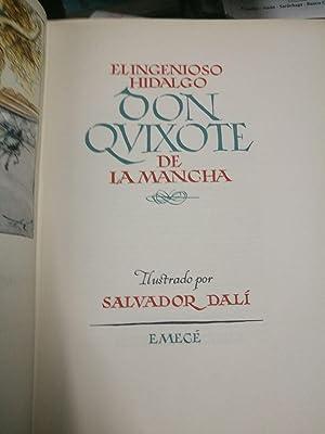 EL INGENIOSO HIDALGO DON QUIXOTE DE LA MANCHA. Ilustrado por Salvador Dali / SEGUNDA PARTE DE ...
