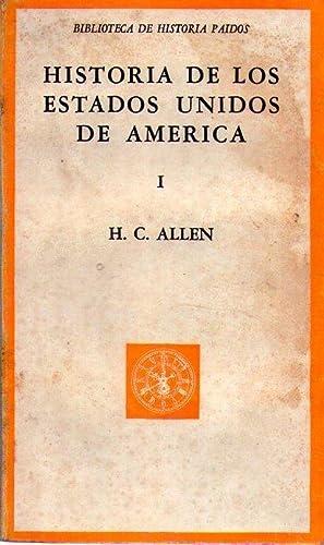 HISTORIA DE LOS ESTADOS UNIDOS DE AMERICA (2 tomos): Allen, H. C.