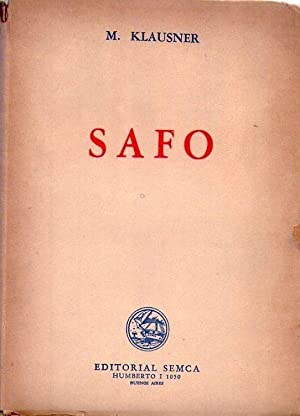 SAFO. Traducido por Greta Mayena: Klausner, Margot