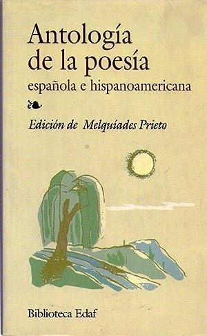 ANTOLOGIA DE LA POESIA ESPAÑOLA E HISPANOAMERICANA: Prieto, Meliquiades
