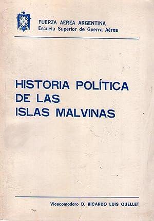 HISTORIA POLITICA DE LAS ISLAS MALVINAS: Quellet, Ricardo Luis