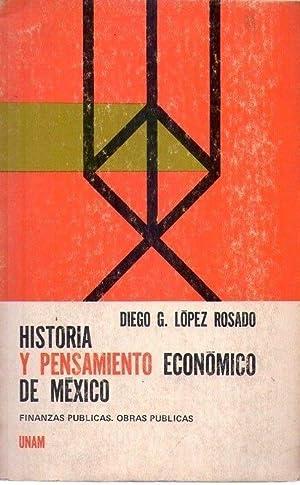 HISTORIA Y PENSAMIENTO ECONOMICO DE MEXICO. Finanzas: Lopez Rosado, Diego