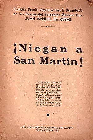 NIEGAN A SAN MARTIN!: Olmos, Alejandro - Director)