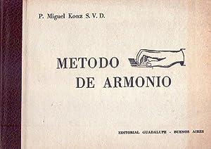 METODO DE ARMONIO. Con un apéndice de: Konz, P. Miguel