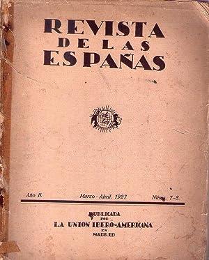 REVISTA DE LAS ESPAÑAS. Nros. 7 - 8, año 2, marzo - abril de 1927: Duque de Alba (...