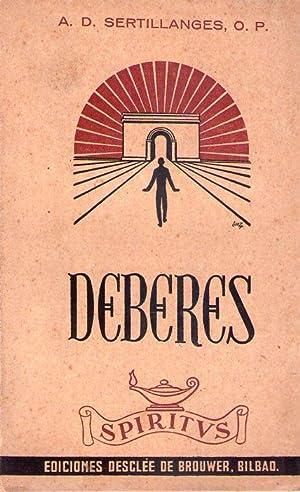 DEBERES. Trayectoria de vida espiritual. Versión española por el estudio general de ...