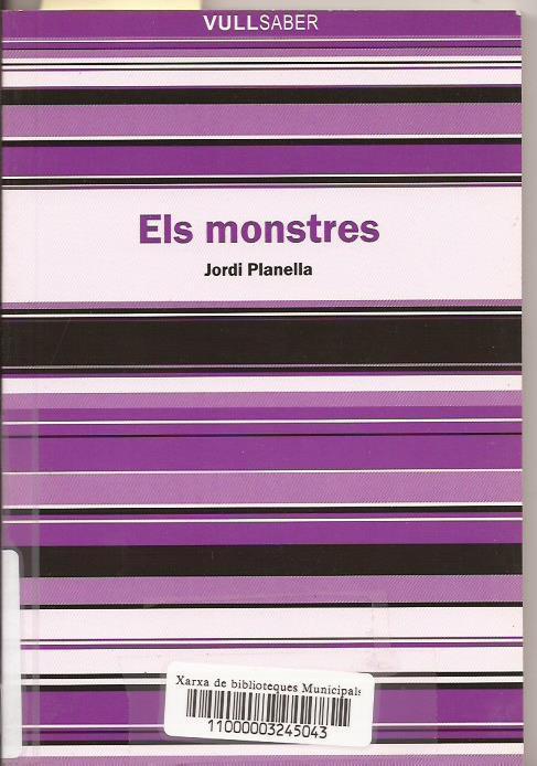 Els monstres - Jordi Planella