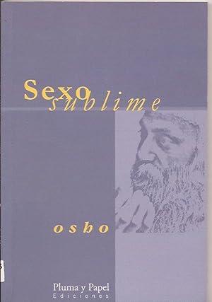 Sexo sublime: Osho