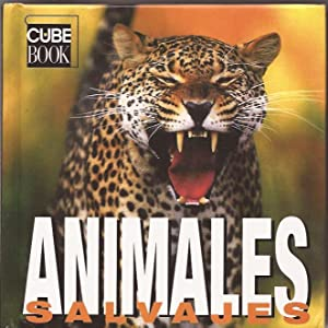 Animales salvajes - Cube book