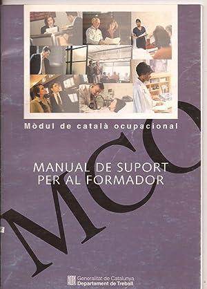 Mòdul de català ocupacional. Manual de suport: Carme Bonet i