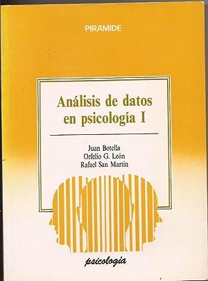 Análisis de datos en psicología I: Juan Botell, Orfelio