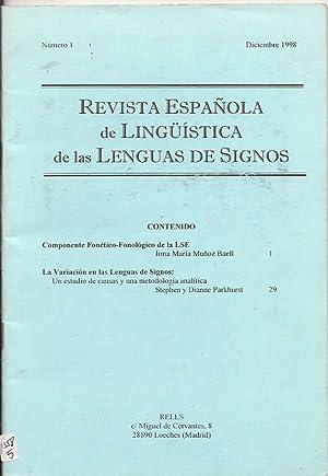Revista española de lingüística de las lenguas: I.M. Muñoz Baell,