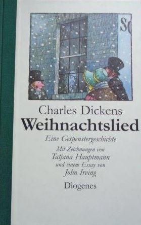 Weihnachtslied Eine Gespenstergeschichte. Mit Zeichnungen von Tatjana: Dickens, Charles, Richard