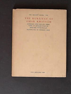 Rubáiyát (Rubaiyat) of Omar Khayyám (Khayyam). The Helicon series VIII.